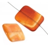 Carnelian 30x40mm Rectangle Approx 4Pcs